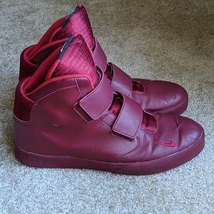 Nike Flystepper 2K3 burgundy red sneakers 11